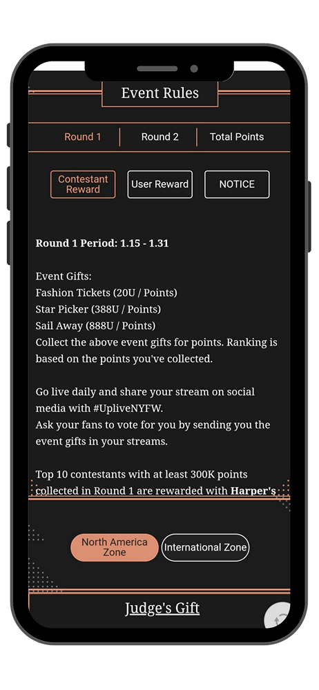 Award Event Rules